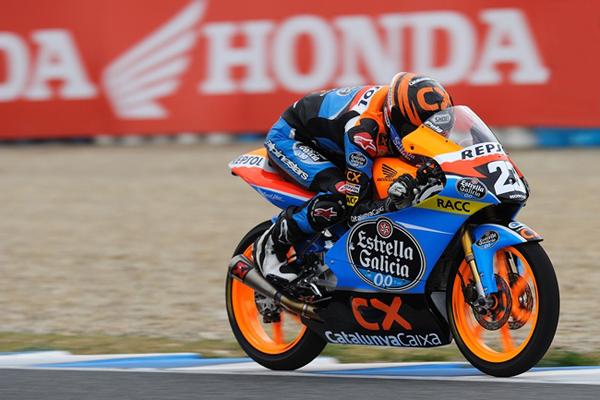 Alex Marquez en Jerez
