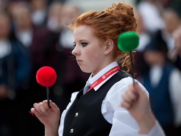 Desfile da Escola de Gaitas de Ortigueira