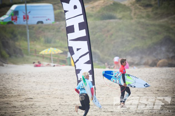 Wahrld Pro Junio contest site.Playa Razo, Carballo.