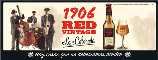 1906 Red Vintage