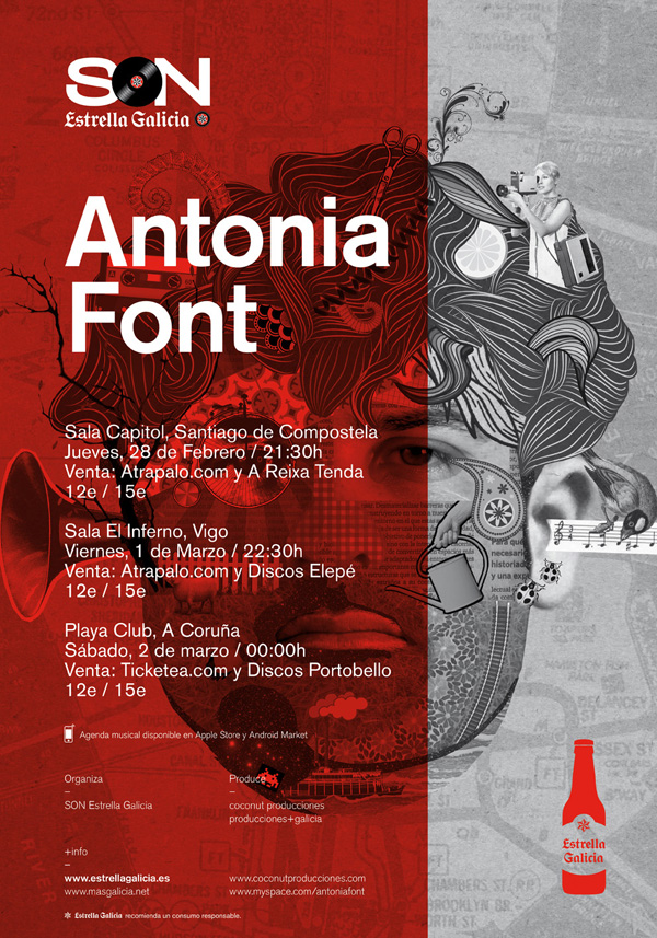 Cartel Antonia Font