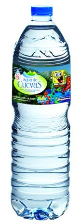 Bob Esponja se cuela en los envases de Agua de Cuevas  mundo HR