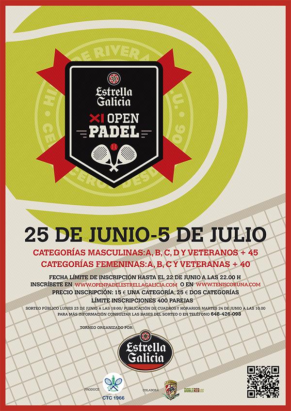 Open de Pádel Estrella Galicia