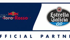 Estrella Galicia 0,0 partner oficial de Scuderia Toro Rosso