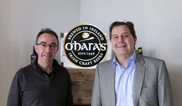 Hijos de River and beer company O´Hara's
