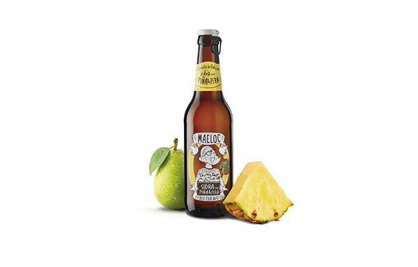 Lanzamiento de nuevo sabor Maeloc piña&pera