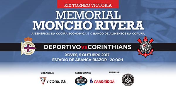 Memorial Moncho Rivera 2017, Deportivo vs. Corinthians