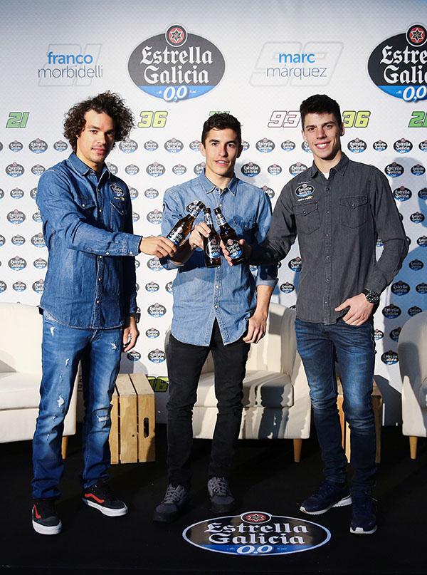 Acto con la prensa en Madrid