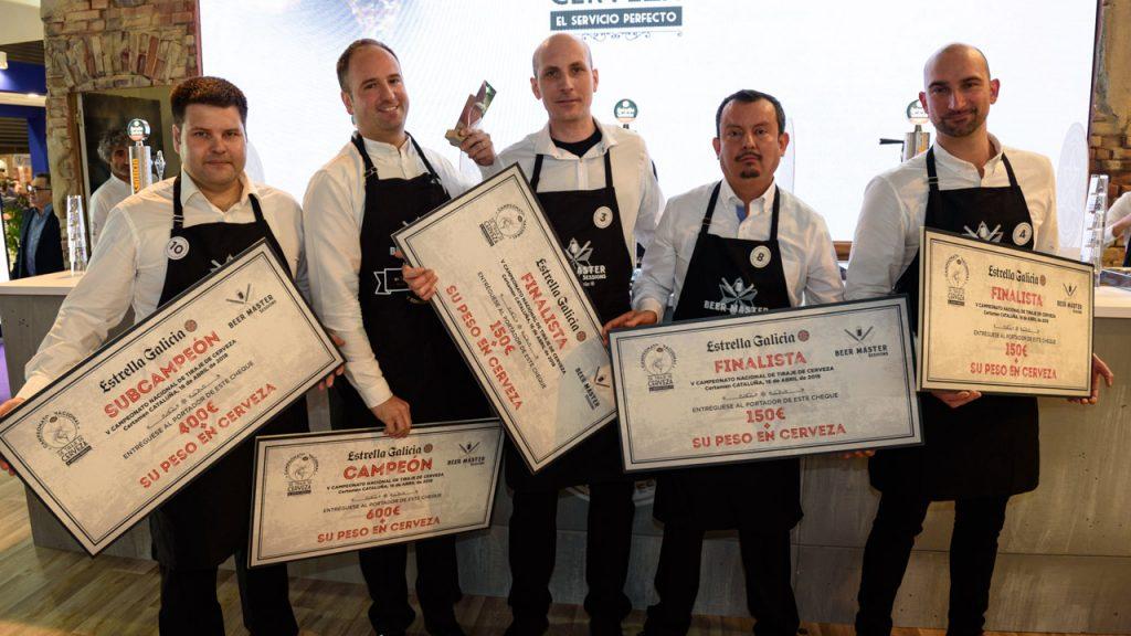 Finalistas Campeonato Tiraje Estrella Galicia Cataluña