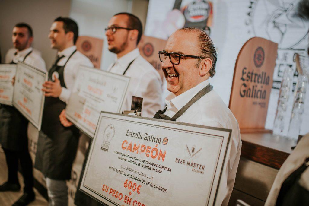 Óscar de Toro Mejor Tirador de Cerveza Galicia