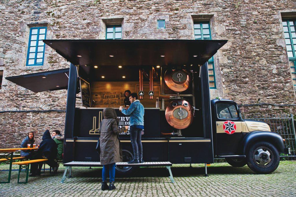 """Beer Truck Estrella Galicia en """"Locos por el food truck"""""""