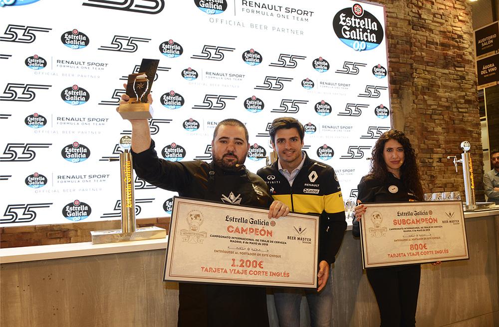 David Tena, Campeón Internacional Beer Master