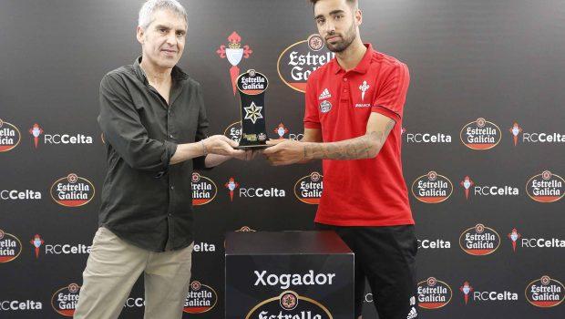 Brais Méndez Jugador Estrella Galicia del Celta